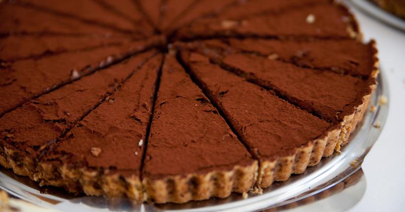 A mais deliciosa receita de torta de biscoito