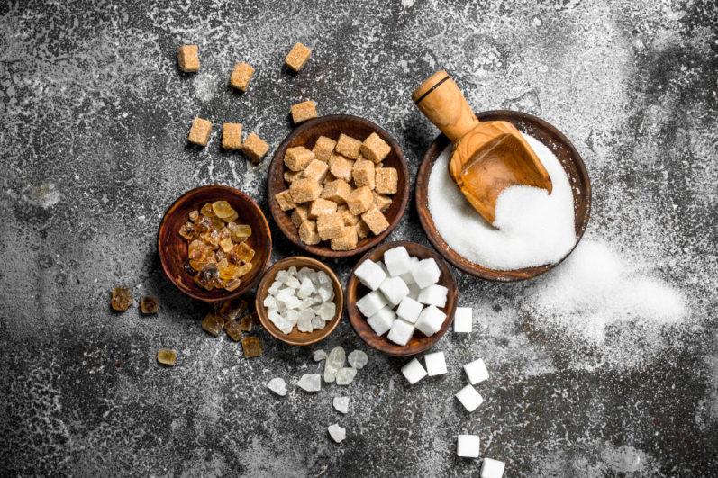 10 diferentes tipos de açúcar: você sabe quais são?