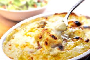 Receita de Macarrão com creme de leite e queijo