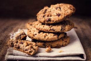 Receita de sobremesa fácil e deliciosa: Creme de chocolate com cookies