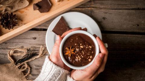 4 deliciosas receitas de chocolate quente