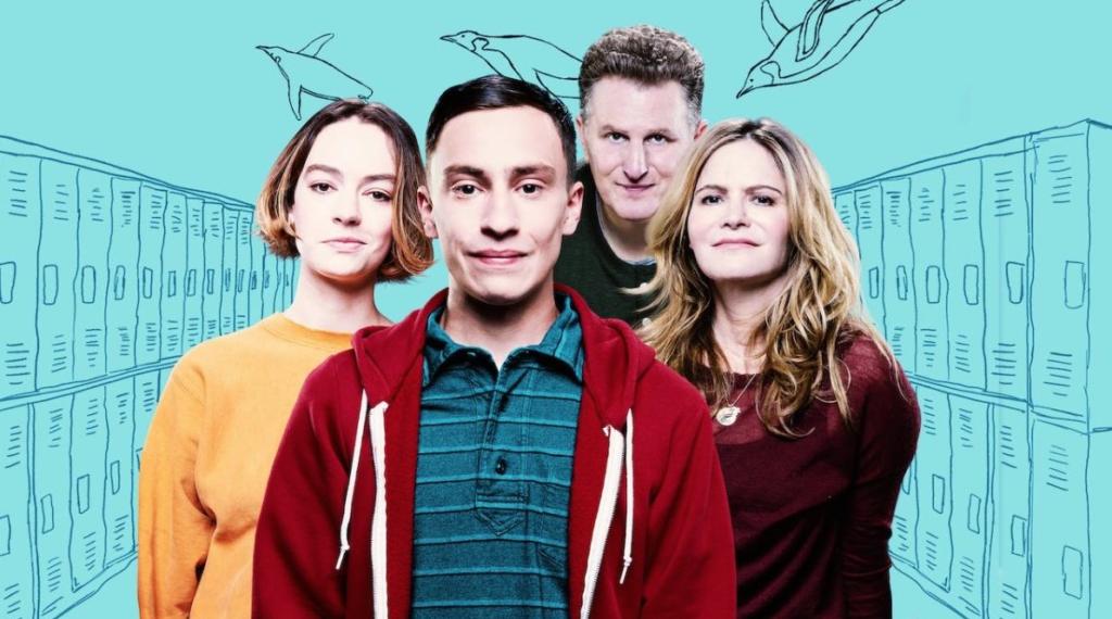 Série Atypical da Netflix para curtir com a família comendo biscoitos
