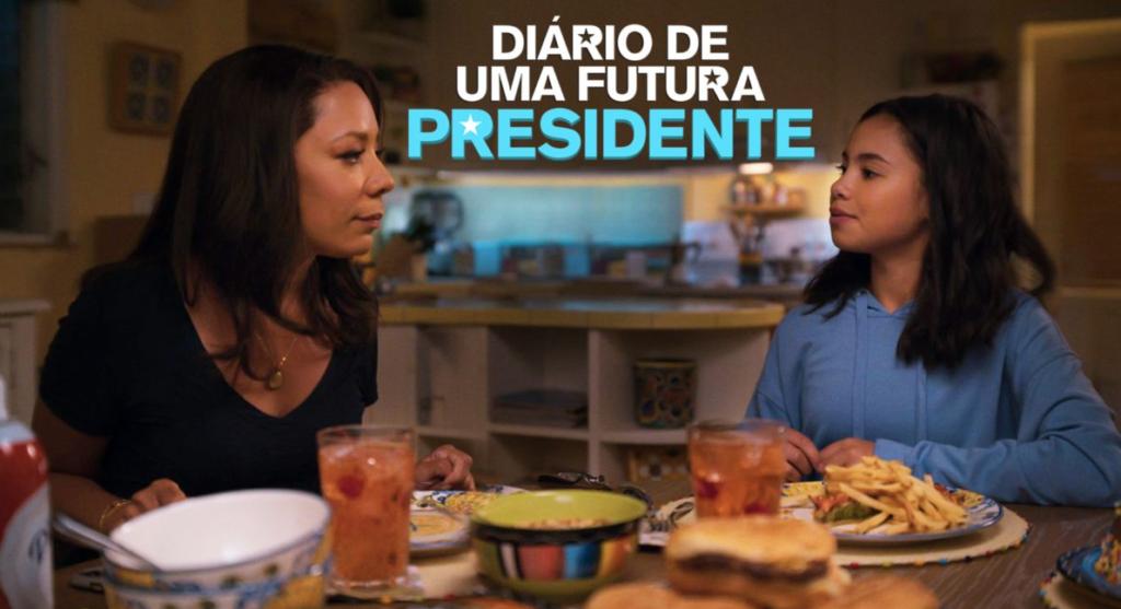 Série Diário de Uma Futura Presidente do Disney+ para curtir com a família comendo biscoitos