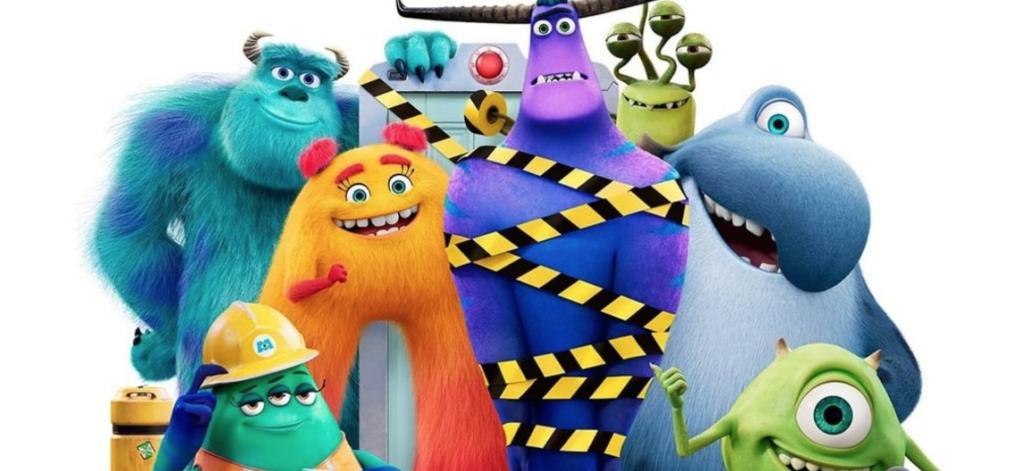 Série Monstros no trabalho do Disney+ para curtir com a família comendo biscoitos