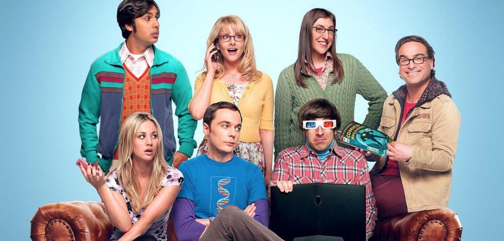 Série The Big Bang Theory da HBO Max para curtir com a família comendo biscoitos
